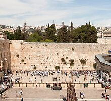 Israel Jerusalem Wailing Wall  by PhotoStock-Isra