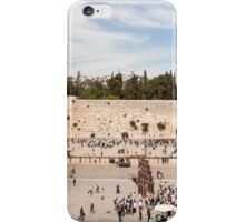 Israel Jerusalem Wailing Wall  iPhone Case/Skin