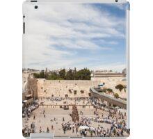 Israel Jerusalem Wailing Wall  iPad Case/Skin