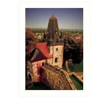Burg Bentheim, Germany Art Print