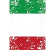 Flag of Italy Photographic Print