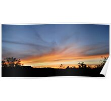 Blue Point Sunsets 8 Poster