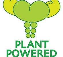Plant Powered Muscle by beaneatsgreens