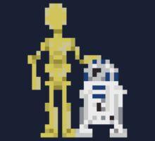 R2 and 3PO by Marius Sørli Finnstun