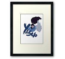 Yasuo minimal design Framed Print