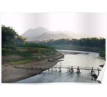 Mekong River Poster