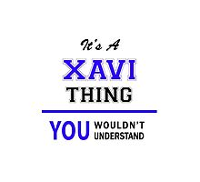 It's a XAVI thing, you wouldn't understand !! by allnames