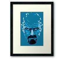 Mr. White's Blue Framed Print