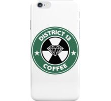 Starbucks District Thirteen Hunger Games iPhone Case/Skin