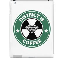 Starbucks District Thirteen Hunger Games iPad Case/Skin