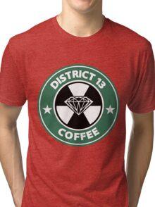 Starbucks District Thirteen Hunger Games Tri-blend T-Shirt