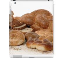 Various types of freshly backed bread iPad Case/Skin