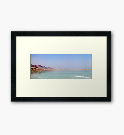 Israel, Dead Sea Panoramic view  Framed Print