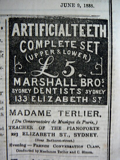 A SYDNEY PAPER IN THE 1880'S by Ekascam