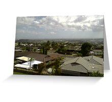 beautiful house view 2 Greeting Card