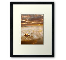 The Coast is Always Changing Framed Print