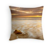 The Coast is Always Changing Throw Pillow