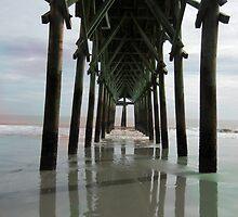 Myrtle Beach Pier by ArtByRuta