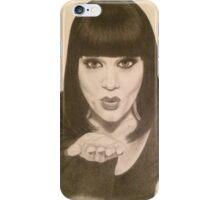 Jessie J portrait iPhone Case/Skin