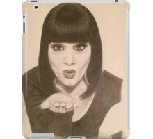 Jessie J portrait iPad Case/Skin