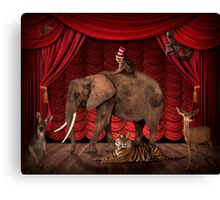 The performance is over Canvas Print