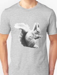 Squirrel black and white T-Shirt