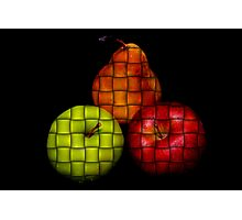 3 Fruits Photographic Print