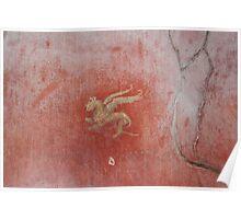 griffin fresco Poster