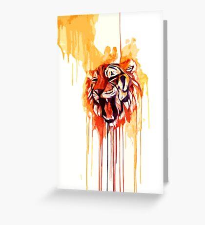 Roar I Greeting Card