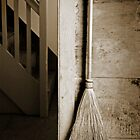 Shaker broom and stairs by Lorne Chesal