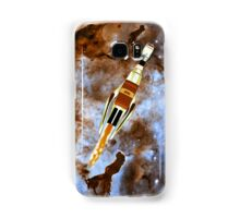 Two Galactic Cruiser/Fighters at NGC 3372  Samsung Galaxy Case/Skin