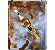Two Galactic Cruiser/Fighters at NGC 3372  iPad Case/Skin
