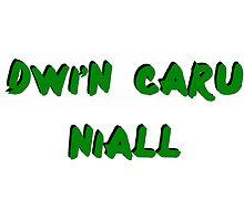 Dwi'n Caru OTRA design NH  by ollysdirection