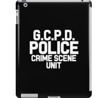 Gotham City Police Department - Batman iPad Case/Skin