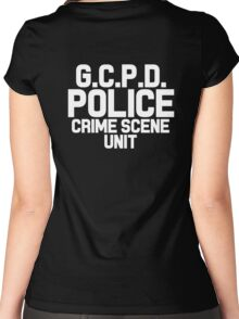 Gotham City Police Department - Batman Women's Fitted Scoop T-Shirt