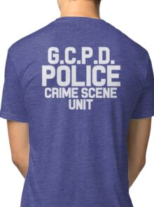Gotham City Police Department - Batman Tri-blend T-Shirt