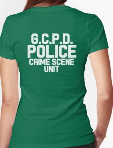 Gotham City Police Department - Batman Womens Fitted T-Shirt