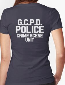 Gotham City Police Department - Batman Womens Fitted T-Shirt
