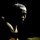 Bushman Scuplture by Chris Coetzee