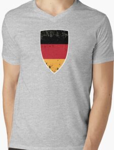 Flag of Germany Mens V-Neck T-Shirt