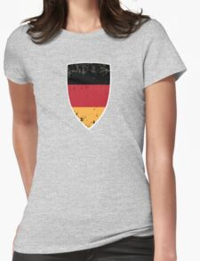 Flag of Germany Womens Fitted T-Shirt