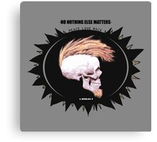Serie 3/4. Nº 19 Metallica Canvas Print
