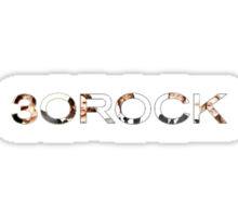 30 Rock Logo + Cast Sticker