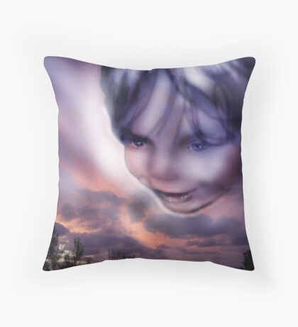 Child of the Sky Throw Pillow