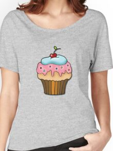 cherry cupcake Women's Relaxed Fit T-Shirt