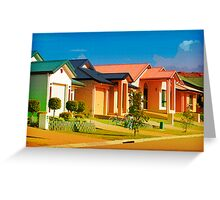 Casas Graficas Greeting Card
