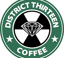 Starbucks District Thirteen Hunger Games by AndreaLabra14