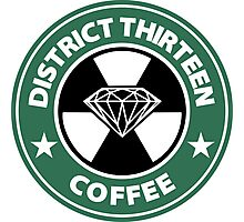 Starbucks District Thirteen Hunger Games Photographic Print