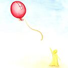 red balloon by caradione