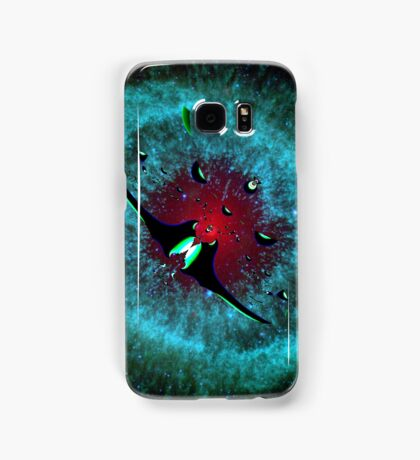 Venetian Interstellar Cruiser with Escorts at the Helix Nebula - all products Samsung Galaxy Case/Skin